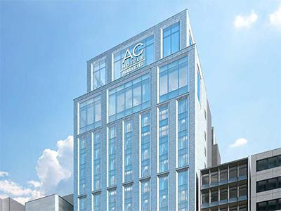 ACホテル・バイ・マリオット東京銀座外観(予想)