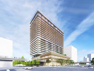 ウェスティンホテル横浜外観(予想)