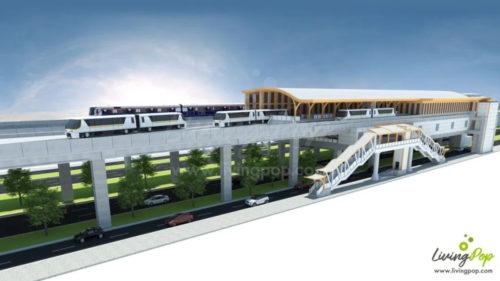 ゴールドラインのクルントンブリー駅イメージ