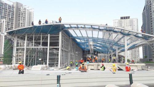 クルントンブリー駅(2020年4月)