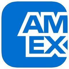 アメリカンエキスプレスのアプリのロゴ