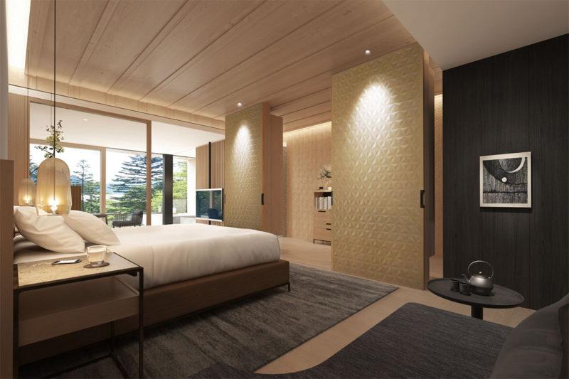 中禅寺湖ビューキングの部屋