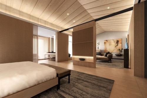 中禅寺湖ビュースイートの部屋