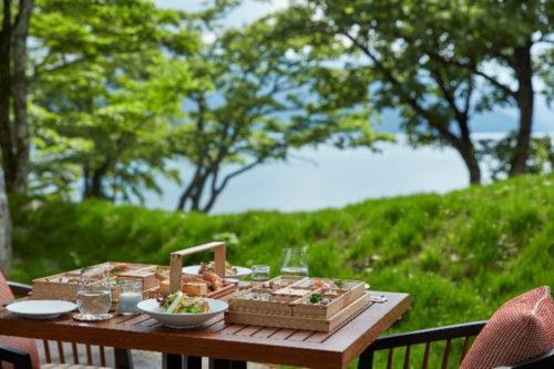 日本料理 by The Ritz-Carlton, Nikkoのテラス席