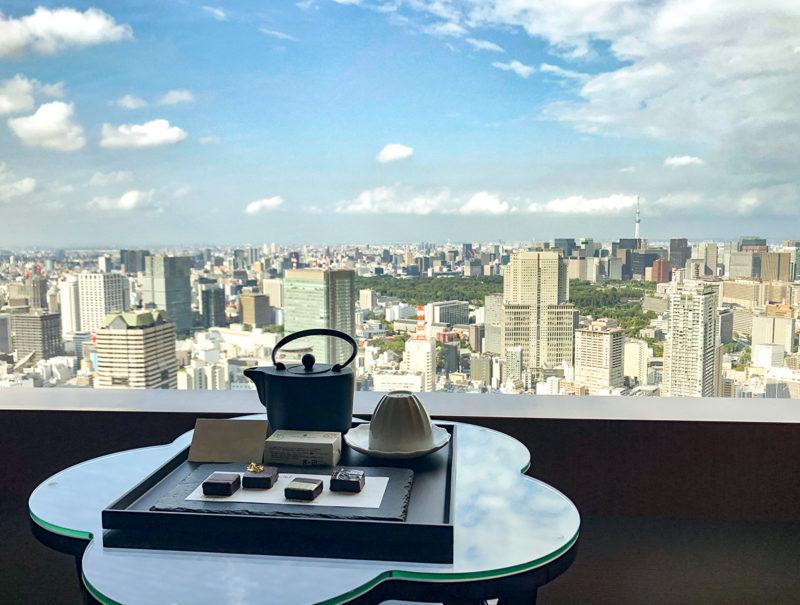 ザ・リッツ・カールトン東京のサービスのチョコレート