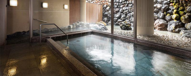 軽井沢マリオットの大浴場
