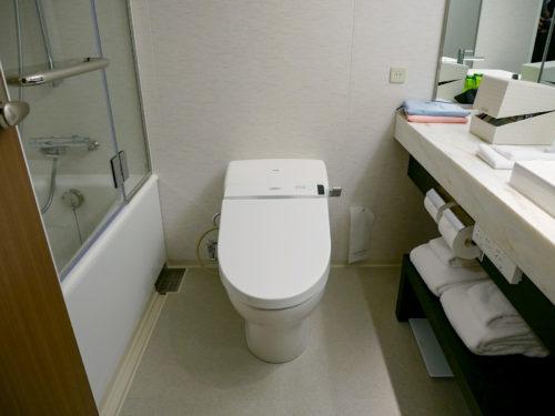 トイレはTOTOのウォシュレット