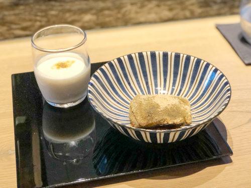 ひのきざかのデザート(本わらび餅)
